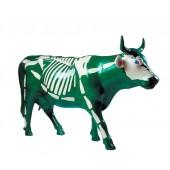 Kuh Skelett grün