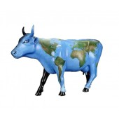 Kuh Weltkarte