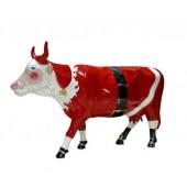 Kuh Weihnachtsmann klein
