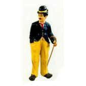 Charlie Chaplin mit Gehstock mittel