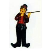 Charlie Chaplin  mit Stöckchen