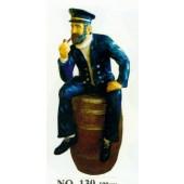 Seemann sitzend auf Fass Variante 2