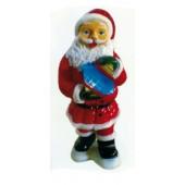 Weihnachtsmann klein mit Geschenk
