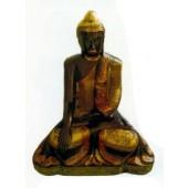altertümliche Buddhafigur