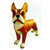 Boston Terrier XXXL braun