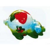 Schwein Po oben mit Erdbeeren