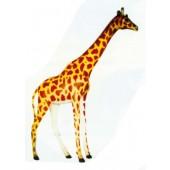 lebensgroße Giraffe