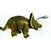 Dinosaurier mit Hörnern und Schild groß