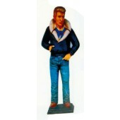 James Dean ganz cool in Fliegerjacke