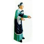 Alte Frau als Köchin