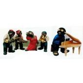 lustige Jazzgruppe 5 teilig