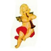 kleiner hängender Engel mit Posaune