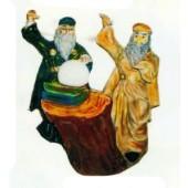 zwei Zauberer zaubern um die Wette