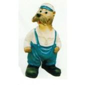 freundliche Robbe als Seemann