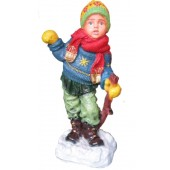 Winterkind Junge