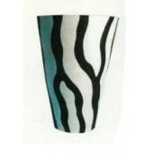 Vase im Zebralook