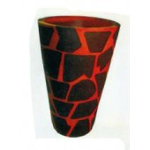 Vase im Giraffenlook