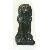 antiker Löwe in Bronzeoptik
