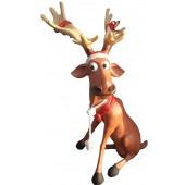Rentier Rudolf sitzend