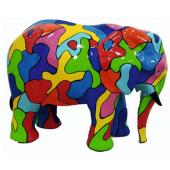 Elefant Mosaik