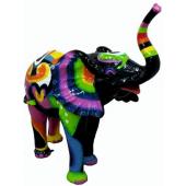 Elefant bunt