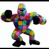 Gorilla aggro bunt gefleckt medium