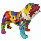 Hund Bulldogge Artdesign