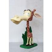 lustige Comic-Giraffe