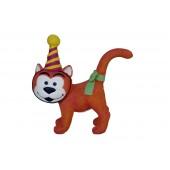 Gargamels Katze mit Partyhut