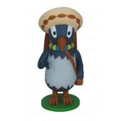 lustiger Vogel mit Hut