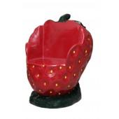 Erdbeersessel
