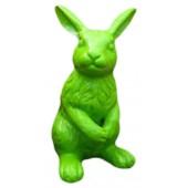 Grünfarbender Osterhase 120cm
