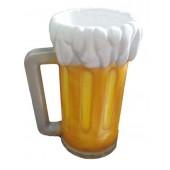 volles Bierglas mit Schaum