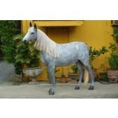 Appaloosa Pferd mit Echthaarmähne