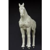 Terracotta Pferd