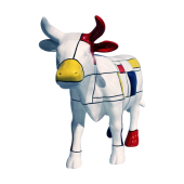 Große künstlerische Kuh