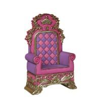 Weihnachtlicher Thron Rosa-Lila