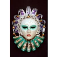 Maske Flaminia Bunt