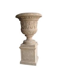 Versailles Urne auf Vase groß