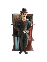 Charlie Chaplin als CD Halter