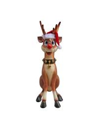 lustiges Rentier Rudolf