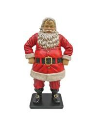 lustiger Weihnachtsmann klein