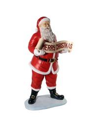 Weihnachtsmann mit Merry Christmas Band