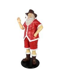 Weihnachtsmann auf Urlaub
