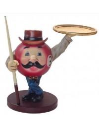 Billiardkugel als Butler