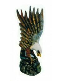 anfliegender Weißkopfseeadler klein
