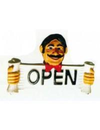 Schild Geöffnet und Geschlossen zum umdrehen