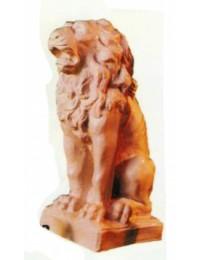 antiker Löwe in Steinoptik
