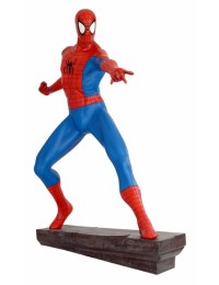 Spiderman Comic mit Steinbase - Marvel Life-Size