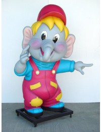 Elefantfigur Wegweiser